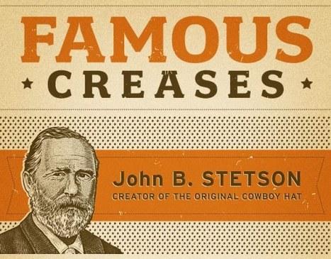 83054cb7c6d37 Stetson Hat - Famous Creases