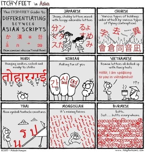 Itchy Feet: A Travel and Language Comic: Creative Guesswork   World Englishes   Scoop.it
