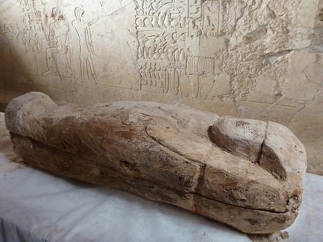 Hallan en Egipto el sarcófago de un niño de hace más de 3.500 años » La Aventura de la Historia, revista de divulgación elaborada por expertos y catedráticos de prestigio | Archeology on the Net | Scoop.it