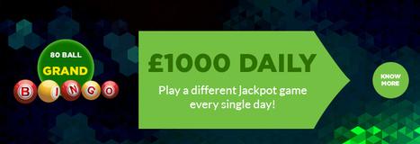 Guaranteed Wins in Grand Jackpots at Gone Bingo This March | Bingo Bonus Offer | Online Bingo Promotions | Scoop.it