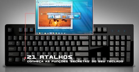 21 Atalhos em seu teclado para agilizar seu trabalho – BITS Caverna | Cibereducação | Scoop.it
