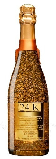 """24K COLLECTION, Gold marketing for spakling, """"""""chaampaaagne"""""""" 
