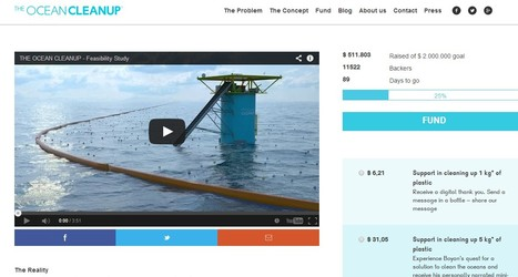 The Ocean Cleanup, developing technologies to extract, prevent and intercept plastic pollution   NGSS Resources   Scoop.it