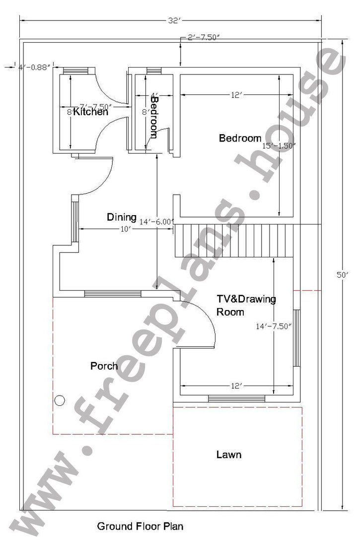 32 50 feet 148 square meters house plan for Home design 84 square metres