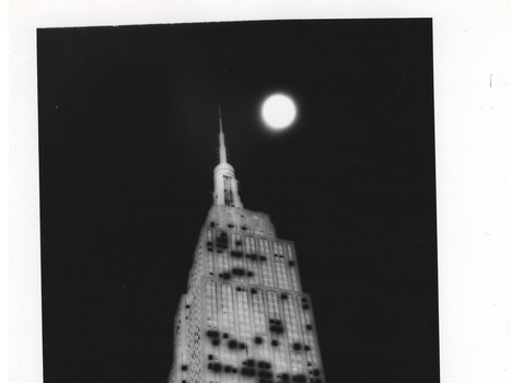 Weegee's infrared Empire State Building - a picture from the past | Film, Art, Design, Transmedia, Culture and Education | Scoop.it