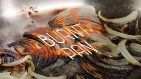 Clean Burnt Residue Off of Pans With Baking Soda | Bazaar | Scoop.it