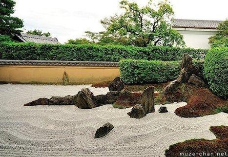 Zen garden patterns, Stormy waves | A Love of Japanese Gardens | Scoop.it