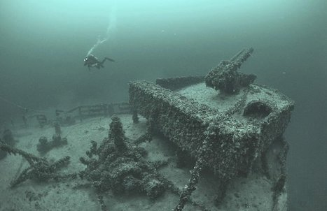 5 dive sites to tempt you east – Diving in Ukraine | All about water, the oceans, environmental issues | Scoop.it