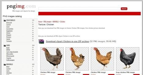 PNGimg, una web en donde encontrar imágenes con fondos transparentes y gratis | Estoy explorando | Scoop.it