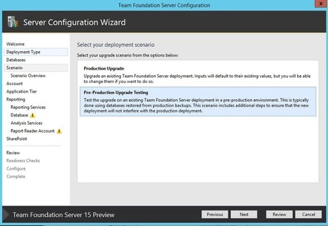 Create a Pre-Production / Test environment for your TFS – Alkampfer's Place   Visual Studio ALM   Scoop.it
