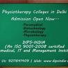 Top Physiotherapy, Biotechnology & Management Colleges in Delhi NCR