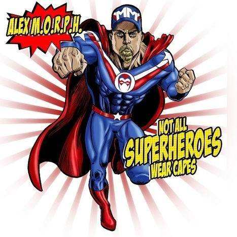 ALBUM. Alex M.O.R.P.H. - Not All Superheroes Wear Capes — | Musical Freedom | Scoop.it