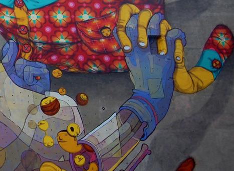 Street Art com Os Gêmeos e Aryz | Mistura Chique | Urban Life | Scoop.it