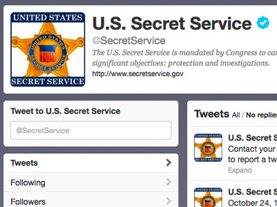 Loose tweets sink ships: Secret Service sets up hotline for 'suspicious' web posts — RT | News & Politics | Scoop.it