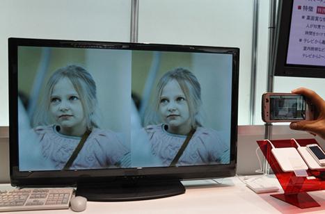 Une télévision qui émet des QR Codes invisibles à l'oeil nu !   QRiousCODE   Scoop.it
