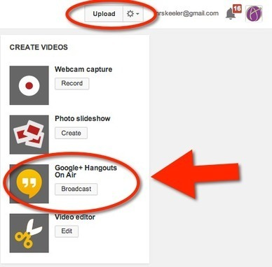 Screen Sharing in a Google Hangout on Air Video Conference | Cool Video's & Instructional Movies | Scoop.it