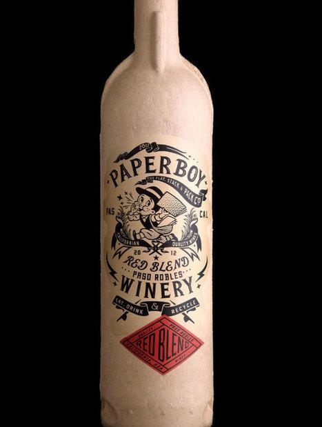 Une bouteille de vin en papier nommée Paperboy | L'emballage écologique | Développement durable & Environnement | Scoop.it