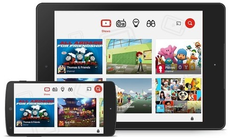 Welcome the newest member of our family: the YouTube Kids app launches in Australia | ParentingOnline | Scoop.it