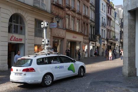 Google Maps et Mappy flashent la ville de Rouen | Ouï dire | Scoop.it