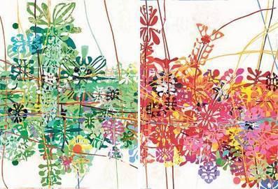 Perfil.com | Edición Impresa | Líneas coloridas de un relato imposible | ANZIZAR, Artista Visual Artist | Scoop.it