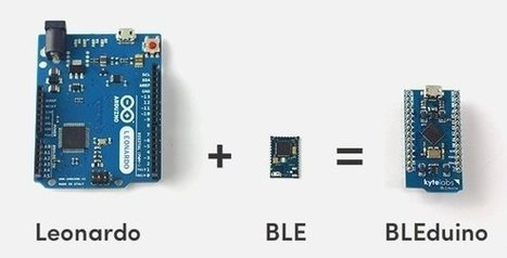 $34 BLEduino Bluetooth 4.0 Low Energy Arduino-Compatible Board | Raspberry Pi | Scoop.it