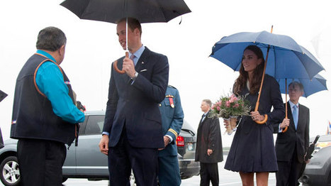 Royals get warm welcome in Canada's Arctic - CTV News | NWT News | Scoop.it