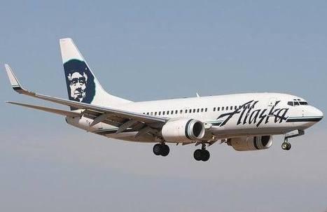 Pneu éclaté au posé d'un avion de Alaska Airlines - Crash-Aérien | pneus moins cher | Scoop.it