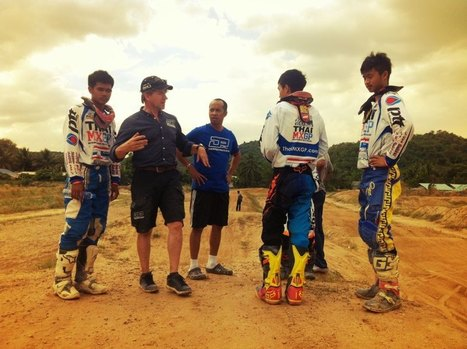 Jan Postema MX School, intensive training for Thai MX Riders, geared up to ThaiMXGP Wildcard qualifying | FMSCT-Live.com | Scoop.it