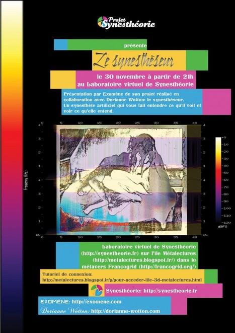 Le Synesthéseur - dispositif art numérique - Exomène - D. Wotton | Digital #MediaArt(s) Numérique(s) | Scoop.it