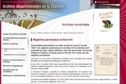 L'état civil de Charente est en ligne : tout ça pour ça ? | Genéalogie | Scoop.it
