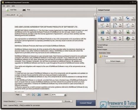 Soft4Boost Document Converter : un logiciel gratuit pour convertir facilement vos documents bureautique   Time to Learn   Scoop.it
