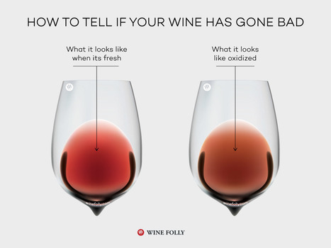 How to Tell if Wine Has Gone Bad | Wine Folly | @zone41 Wine World | Scoop.it