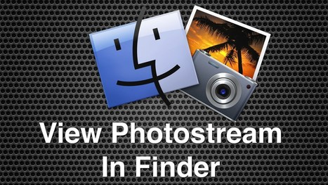Opening PhotoStream Files In A Finder Search Within Mac OS X | All Things Mac | Scoop.it