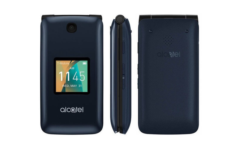 83d48c0be9f3 The Alcatel Go Flip is a dumbphone-smartphone h...