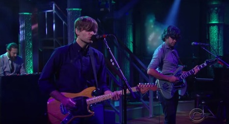 "Death Cab for Cutie perform ""No Room in Frame"" on Colbert — watch 