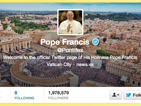 Pope Francis hits Twitter, asks Catholics to pray for him | Holy Post | National Post | Digital Consumption | Scoop.it