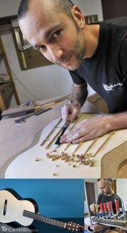 Bastien Burlot fabrique à Aubazine (Corrèze) des guitares ... - lepopulaire.fr | L'actualité de la guitare | Scoop.it