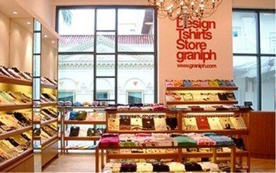 Tokyo retail trip #2: Graniph, Design T-Shirts Stores   Retail Design Review   Scoop.it