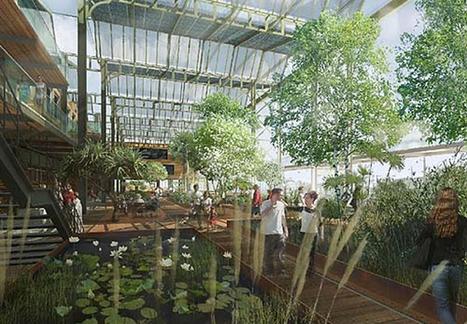 Une ferme solaire au coeur de Paris   Nature et urbanisme   Scoop.it