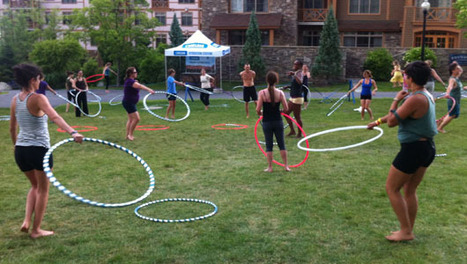 Why hooping is the fun new exercise of the summer - Mother Nature Network (blog) | Hooping | Scoop.it