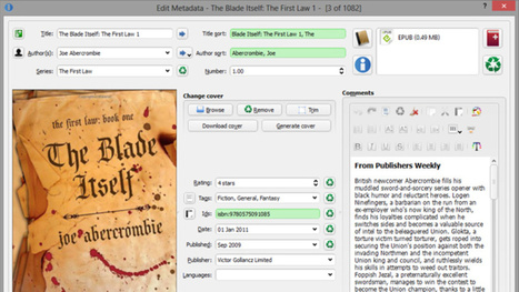 Automatically Download Metadata for Your Ebooks with Calibre | Ebook and Publishing | Scoop.it