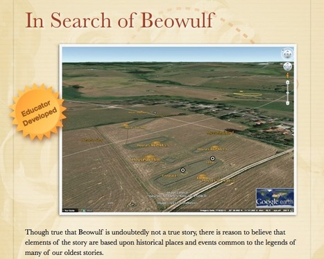 In Search of Beowulf | What They're Saying About Google Lit Trips | Scoop.it