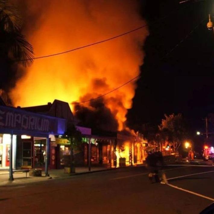 Fire guts Nimbin Museum and Rainbow Cafe   ABC (Australie)   Kiosque du monde : Océanie   Scoop.it