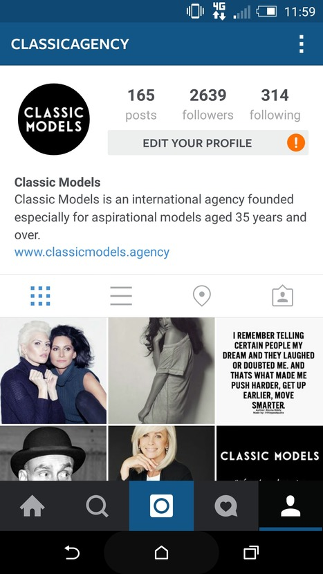 Classic Models (@classicagency) • Instagram photos and videos | Instagram Tips and Tricks | Scoop.it