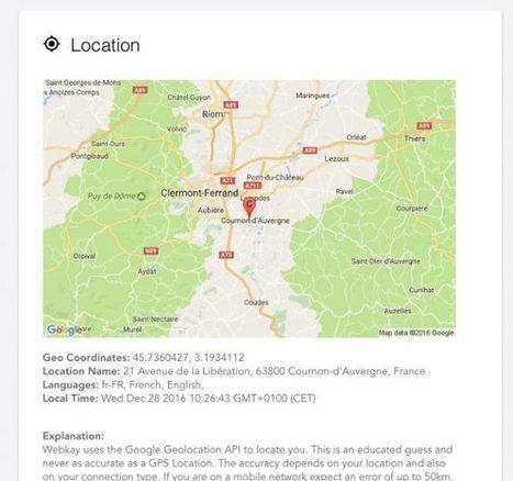 Tout ce que votre navigateur peut balancer sur vous - Korben | François MAGNAN  Formateur Consultant | Scoop.it
