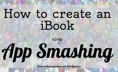 How to use App Smashing on the iPad to create an iBook - Daily Genius | iPads  For Instruction | Scoop.it