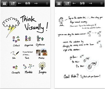 Inkflow- A Good iPad App to Create Visual Sketches ~ Educational Technology and Mobile Learning | Better teaching, more learning | Scoop.it
