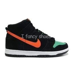 Nike SB Dunk High Jagermeister Black Green for ... eb69b0778