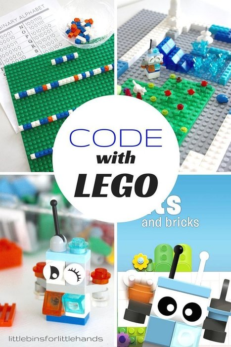 LEGO Computer Coding STEM Activities for Kids   Tablets na educação   Scoop.it