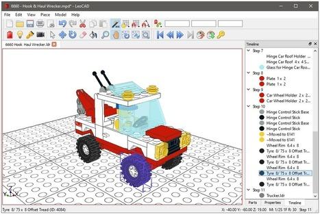 Construire, modéliser en 3D dès l'école primaire   Vie numérique  à l'école - Académie Orléans-Tours   Scoop.it